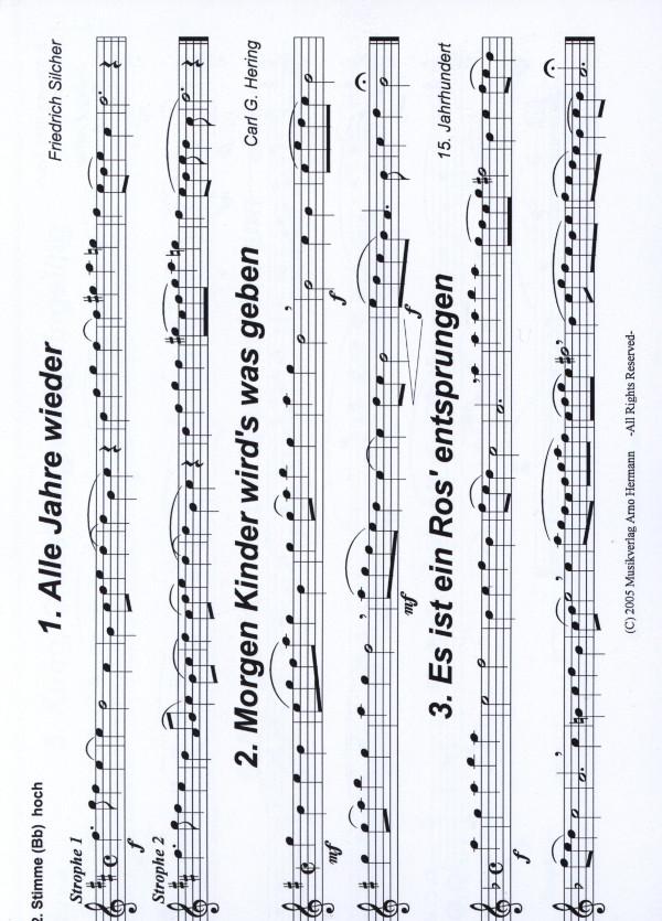 Hermann, Arno (arr.) - Internationale Weihnachtslieder -2.Stimme in ...