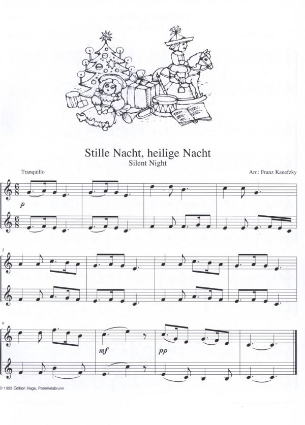 Kanefzky, Franz (arr.) - Weihnachtslieder für 2 Hörner (oder 2 ...